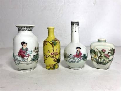 Miscel Chinese porcelain objects