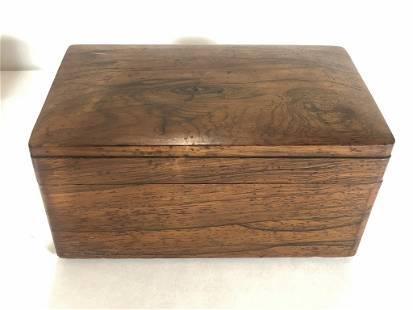 Rosewood box c1920