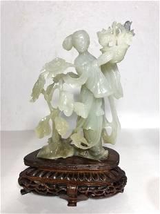 Chinese jade Immortalc1965