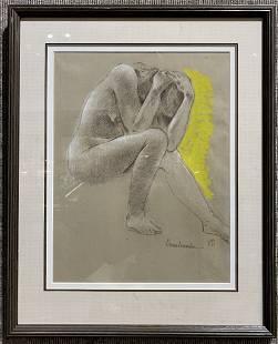 Nude drawing study Xavier Gonzalez