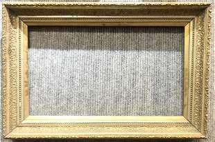 Victorian gilt wood frame, c.1880