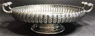 Russian silver bowl, 84 mark, 13 t. oz