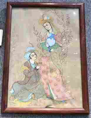 Persian watercolor, c.1920