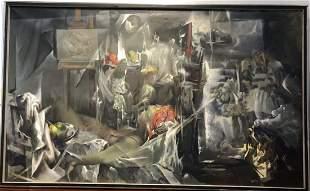 Xavier Gonzalez painting of Wellfleet
