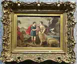 Small 19th century Painting, mythological subject