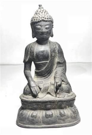 Early bronze Buddha