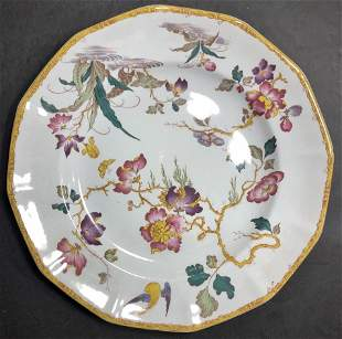 Five Wedgwood Devon Rose plates