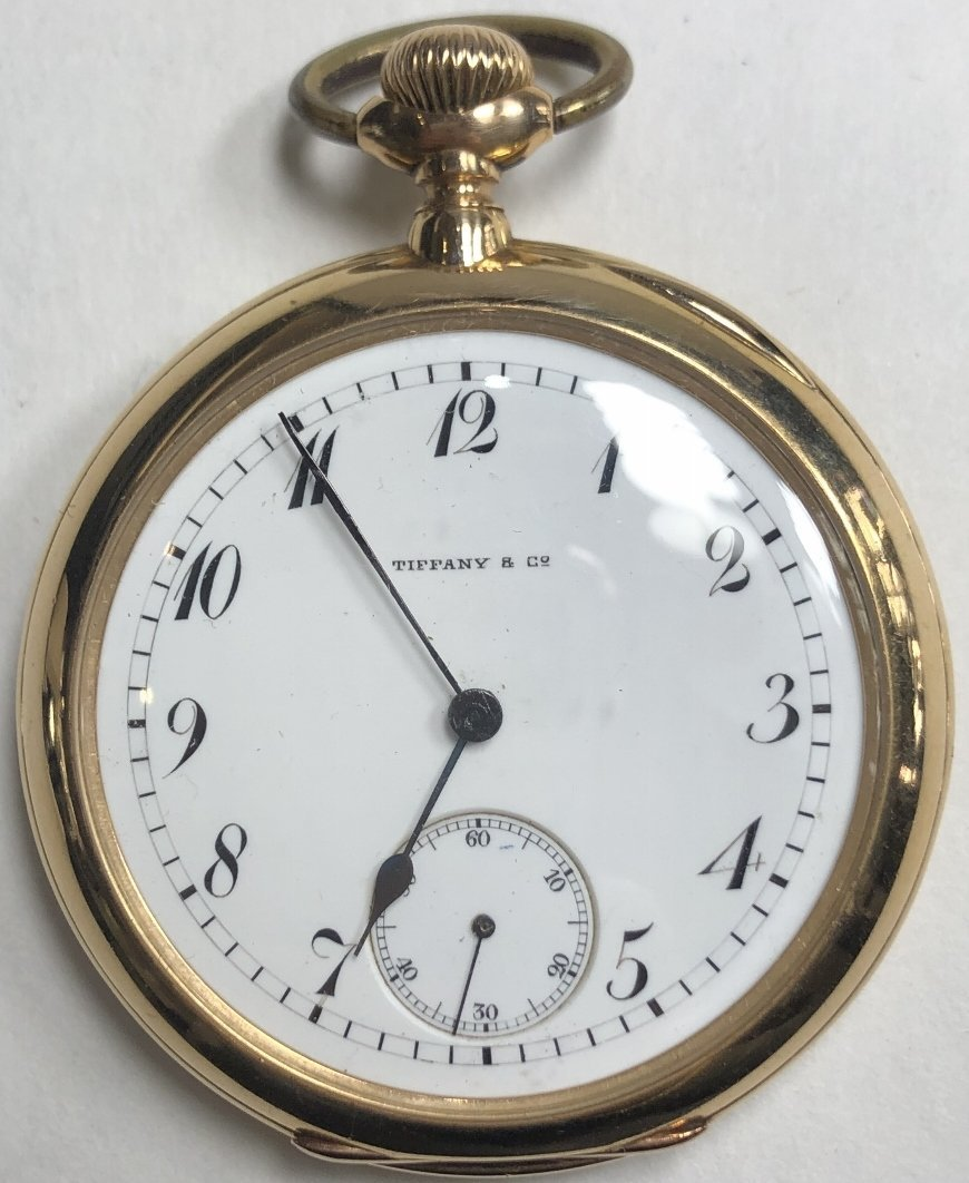 18k Tiffany & Co pocket watch 53.3 dwt
