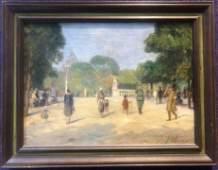 WW2 Paris ptg by Alfredo Palmero de Gregorio