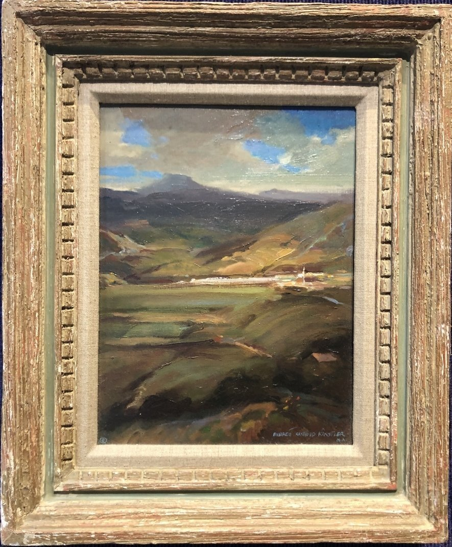 Painting of Portugal by Everett Raymond Kinstler