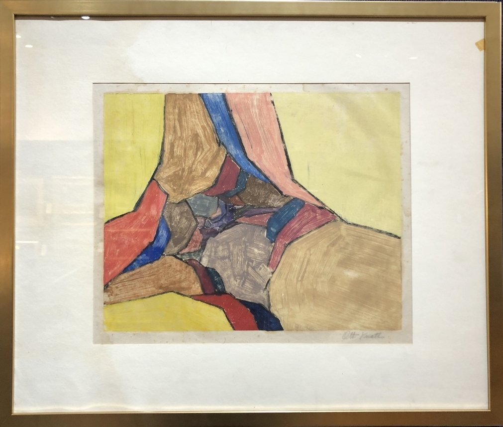Monotype on paper by Karl Otto Knaths