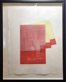 Richard Smith numbered lithograph 1980
