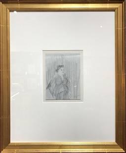 Draw of womanBlue GraniteHenry Glintenkamp