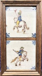 Dutch tiles 20th century reproductions