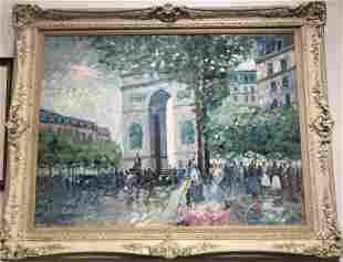 Large Painting by Lisandro Lopez Baylon