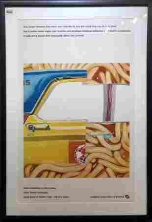 1969 poster Louis Brandeis by James Rosenquist