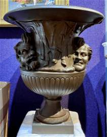 Grand Tour bronze urn, Greek style c. 1900
