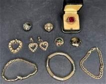 Misc gold jewelry10k 615dwts14k 481 dwts