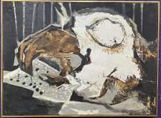 Painting by Xavier Gonzalez titled Wellfleet