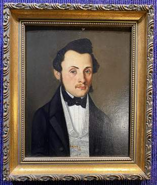 Portrait painting, 18th/19th century