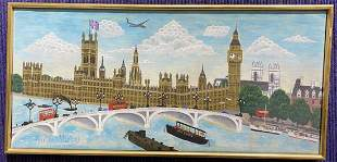 Painting of Houses Parliament  by Andrew Murray
