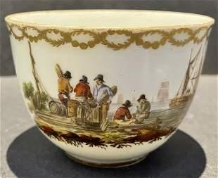 18thc European porcelain cup, Amstel