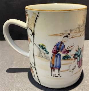 Chinese Export porcelain mug, 18th/19th century