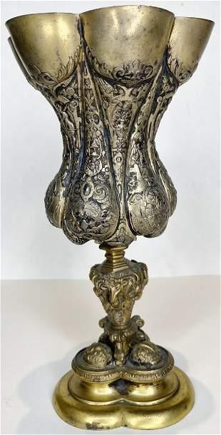 Silver gilt chalice,c.1900