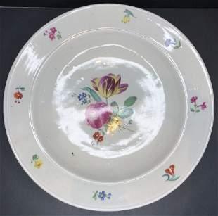 Royal Vienna floral porcelain charger,c.1900
