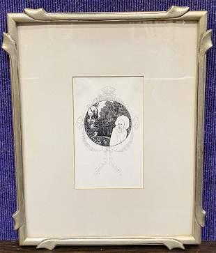 Aubrey Beardsley print
