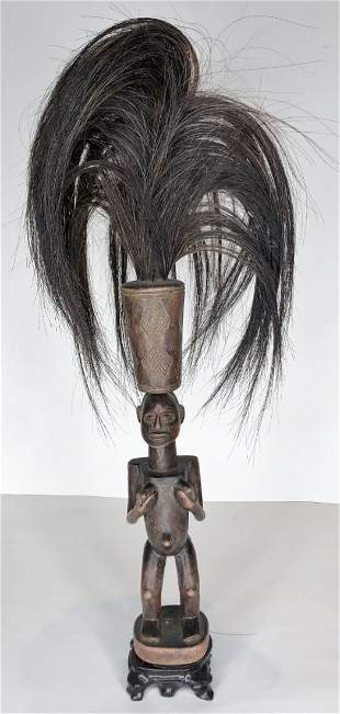 Kuba Tribe, Condo, wood figure