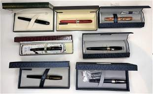 Miscellaneous fountain pens in boxes