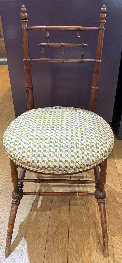 Victorian wood chair