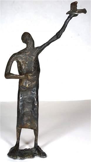 Bronze of Noah by Wlademar Otto (German)
