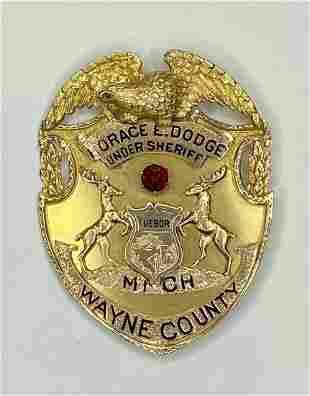 14k gold historical item from Dodge Estate