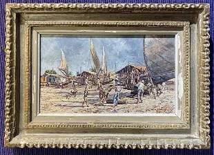 Painting of Brazil by Wim Van Dijk