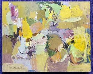 Abstract painting by Vita Petersen, d1962