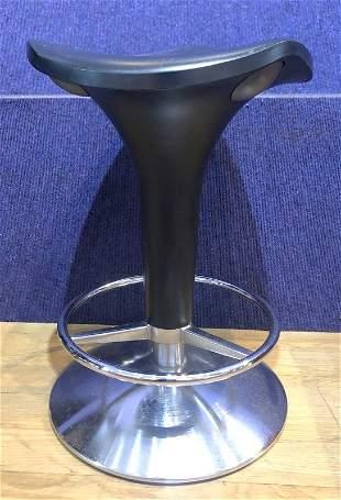 Modern upholstered swivel stool