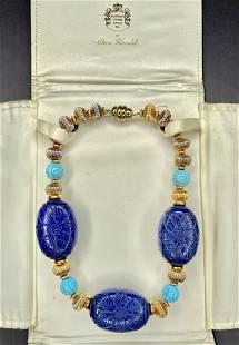 Clive Kandel costume necklace