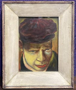 Portrait by Job Goodman, c1940 (WPA Artist)