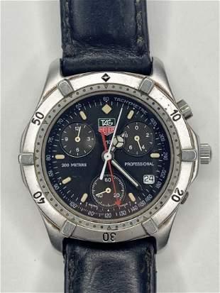 Tag Heuer wristwatch
