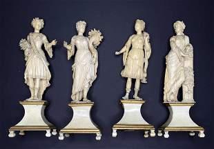 Set of the Four Seasons, c1750