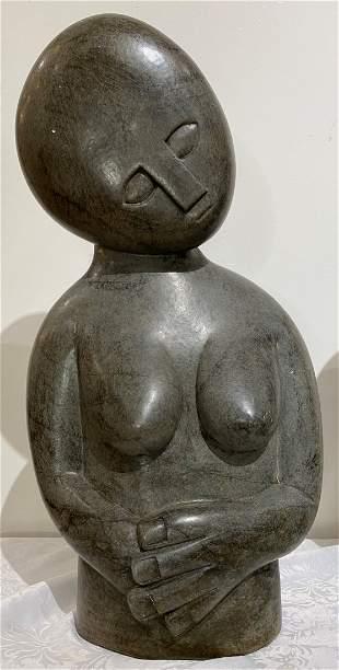 Contemplation stone sculpt by Natias M (Zimb)