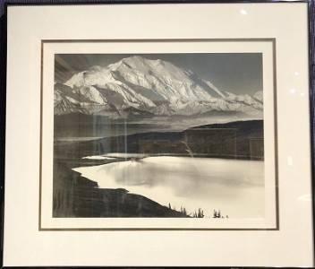 Ansel Adams photo Mount McKinley & Wonder Lake, Alaska