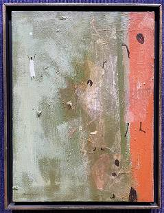 Abstract painting by Alvin Hollingsworth, Trip