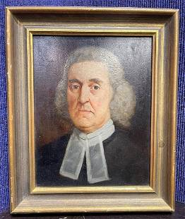Painting of judge by Lawrence C. Earle