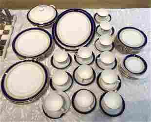 Porcelain Royal Worcester service 52 pieces
