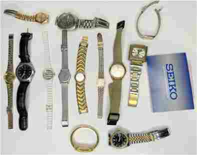 Miscellaneous wristwatches (12th street estate)