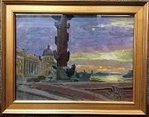 Russian painting-Chumakov-Ambassador
