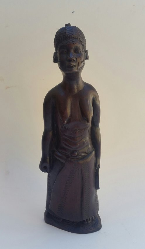 Elizabeth Catlett Woman Wood American-Mexican